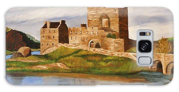 Eilean Donan Castle Galaxy Case by Christy Saunders Church