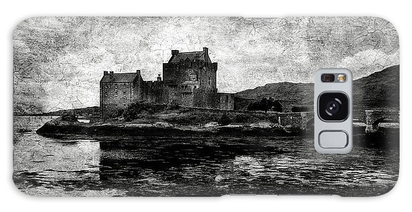 Eilean Donan Castle In Scotland Bw Galaxy Case by RicardMN Photography