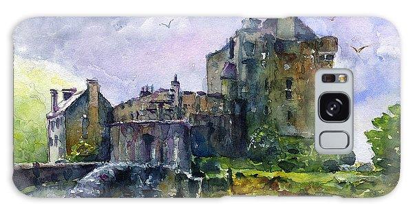 Eilean Donan Castle Scotland Galaxy Case