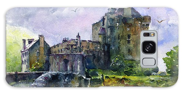 Eilean Donan Castle Scotland Galaxy Case by John D Benson