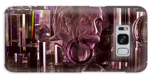 Einstein In Crystal - Purple Galaxy Case