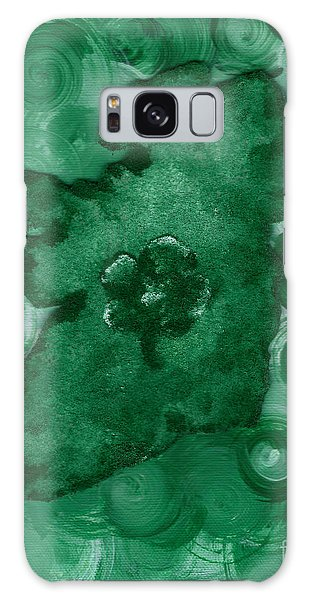 Eire Heart Of Ireland Galaxy Case by Alys Caviness-Gober