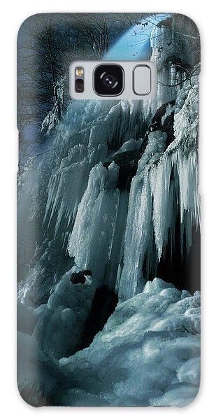 Ice Galaxy Case - Eisfall Im Mondlicht by Nicolas Schumacher