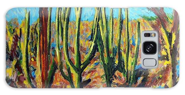 El Bosque Del Desierto Galaxy Case by Gerhardt Isringhaus