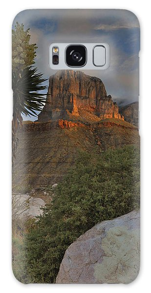 El Capitan At Sunrise Galaxy Case