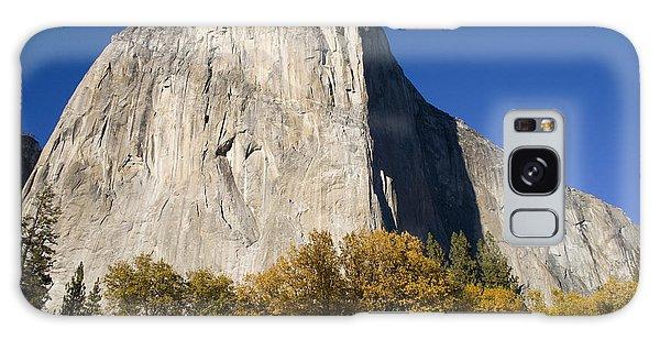 El Capitan In Yosemite National Park Galaxy Case by David Millenheft