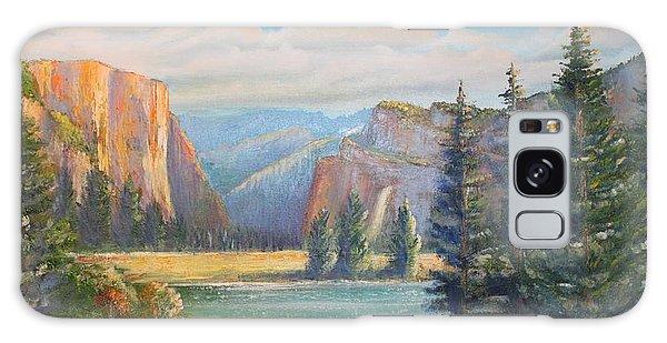 El Capitan  Yosemite National Park Galaxy Case