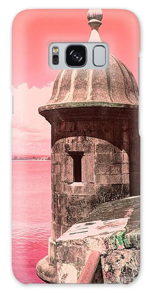 El Morro In The Pink Galaxy Case
