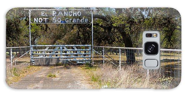 El Rancho Not So Grande Galaxy Case by Vinnie Oakes