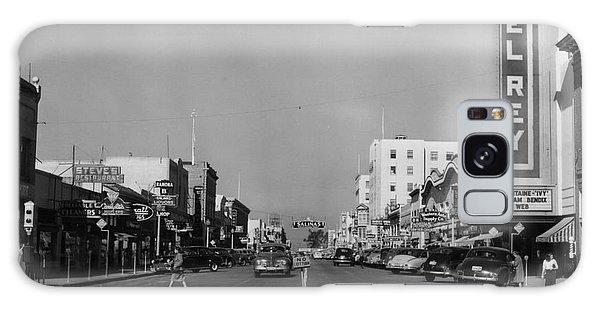 El Rey Theater Main Street Salinas Circa 1950 Galaxy Case
