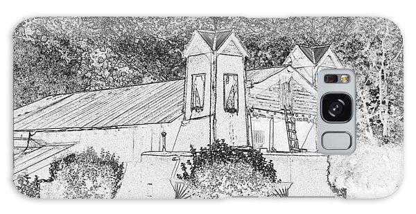 El Santuario Chimayo Galaxy Case