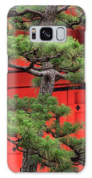 Kansai Galaxy Case - Elaborately Sculpted Pine Trees by Paul Dymond