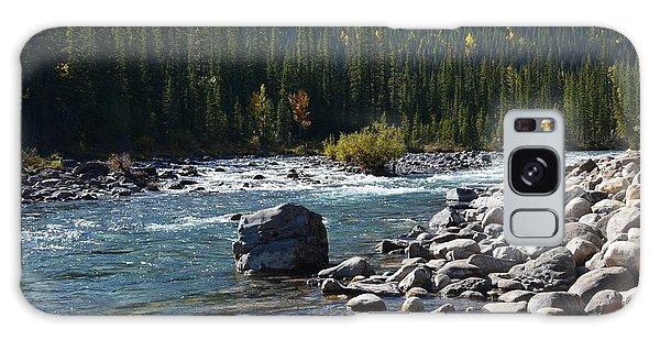 Elbow River Rock Art Galaxy Case