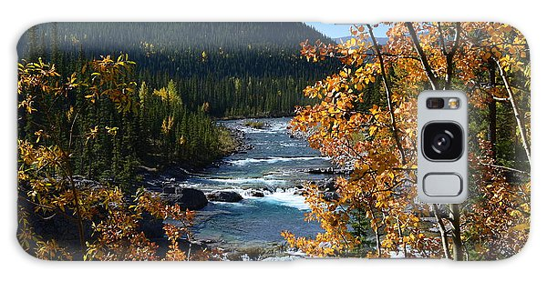 Elbow River View Galaxy Case by Cheryl Miller