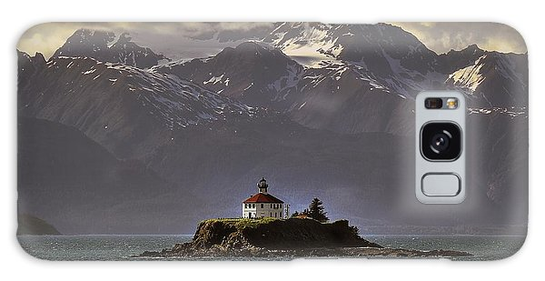 Eldred Rock Lighthouse Alaska Galaxy Case