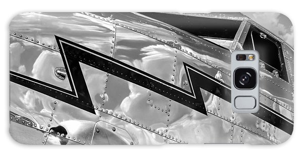Electra Reflections In Black And White Galaxy Case