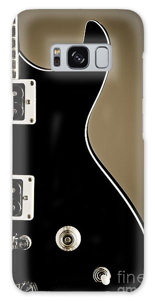 Electric Guitar Photograph In Black And White Sepia 3319.01 Galaxy Case
