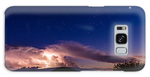 Electric Heavens 1 Galaxy Case