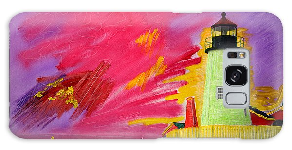 Electric Lighthouse Galaxy Case