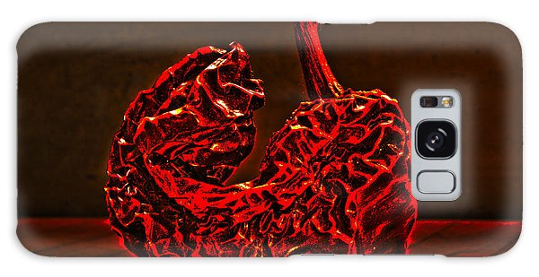 Electric Red Pepper Galaxy Case