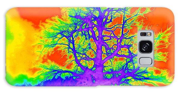 Electric Tree Galaxy Case by Jodie Marie Anne Richardson Traugott          aka jm-ART