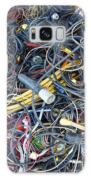 Electrical Cord Picking Galaxy Case