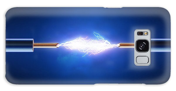 Flash Galaxy Case - Electric Current / Energy / Transfer by Johan Swanepoel