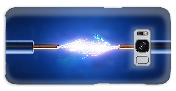Technology Galaxy Case - Electric Current / Energy / Transfer by Johan Swanepoel