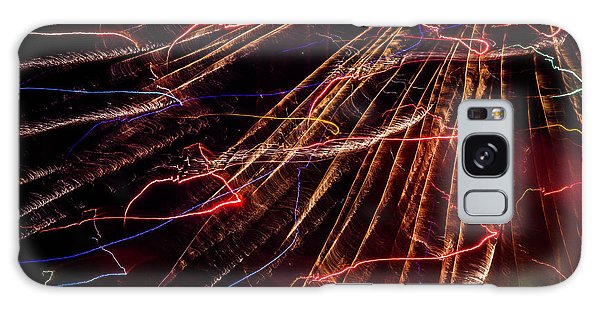 Electricity Galaxy Case by Sara Frank