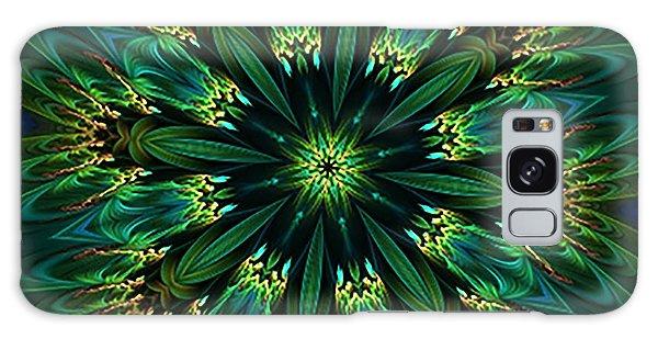 Elegance Green Kaleidoscope Galaxy Case