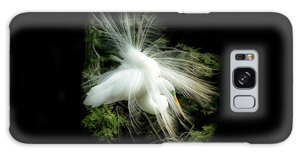 Egret Galaxy Case - Elegance Of Creation by Karen Wiles