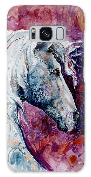 Elegant Horse Galaxy Case by Mary Armstrong