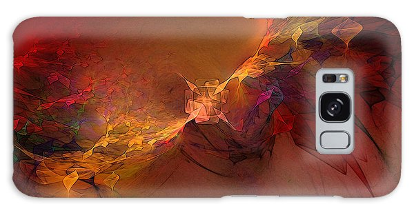 Elemental Force-abstract Art Galaxy Case