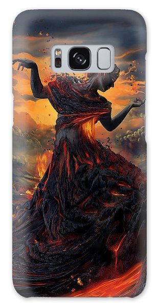 Pele Galaxy Case - Elements - Fire by Cassiopeia Art