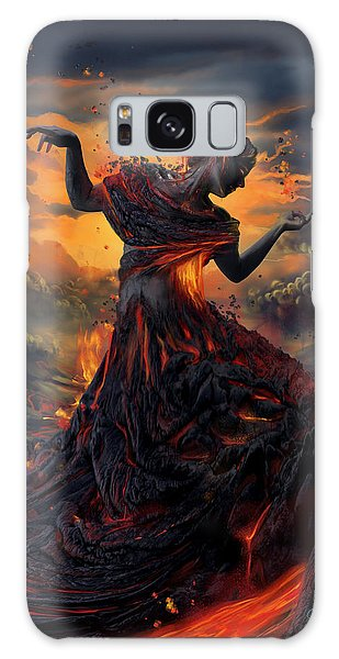 Elements - Fire Galaxy Case by Cassiopeia Art