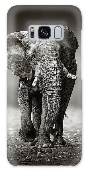 Wildlife Galaxy Case - Elephant Approach From The Front by Johan Swanepoel