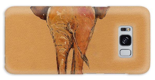 Elephant Back Galaxy Case by Juan  Bosco