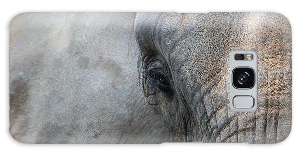 Elephant Portrait Galaxy Case