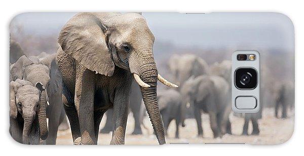 March Galaxy Case - Elephant Feet by Johan Swanepoel
