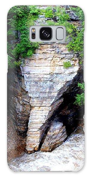 Elephant Head Rock Galaxy Case by Patti Whitten