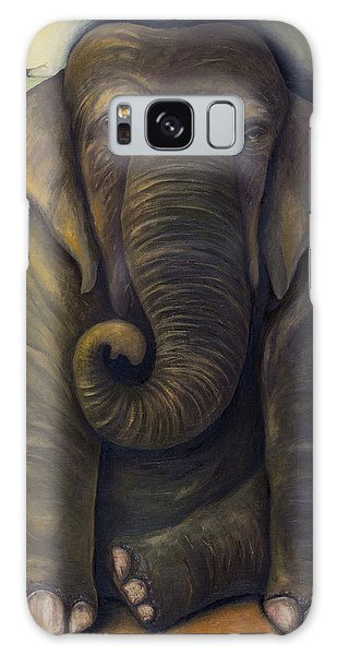 Elephant In The Room Galaxy Case