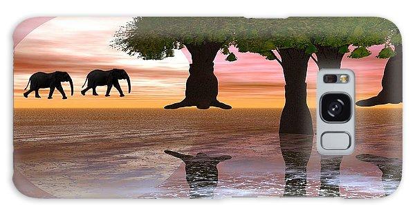 Elephant Walk Galaxy Case