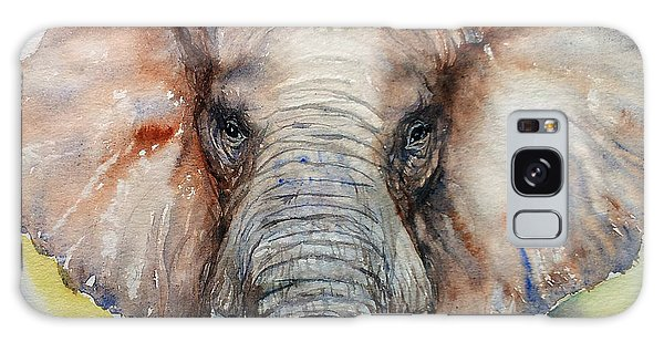 Elephant_chestnut Brown Galaxy Case