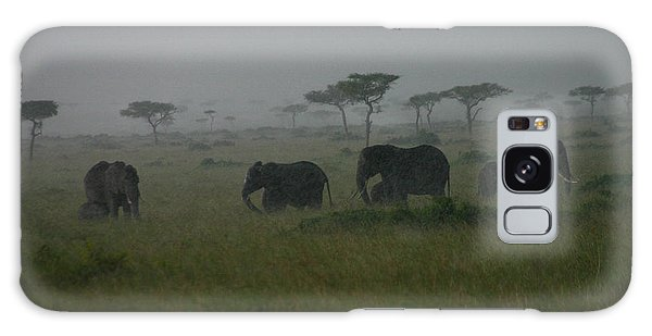 Elephants In Heavy Rain Galaxy Case