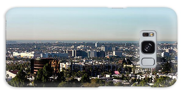 Elevated View Of City, Los Angeles Galaxy Case