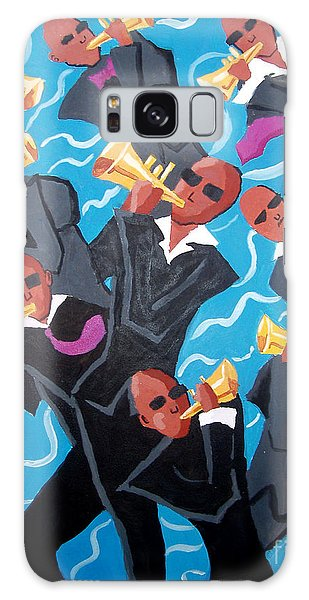 Eleven Pipers Piping Galaxy Case by Whitney Morton