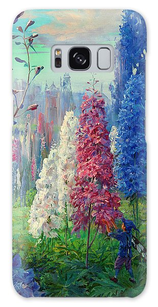 Elf And Fantastic Flowers Galaxy Case