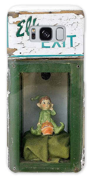 elf exit, Dubuque, Iowa Galaxy Case