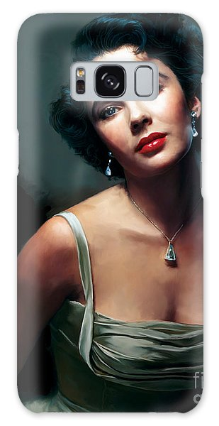 Elizabeth Taylor Galaxy S8 Case