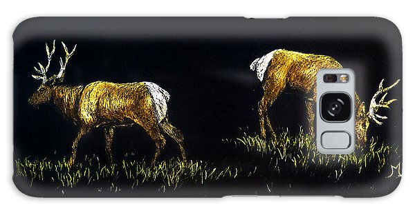 Elk Bulls Galaxy Case